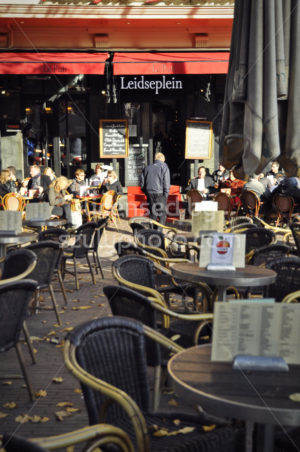 "The ""Le Pub"" cafe on the Leidseplein - Adam Szuly Photography"