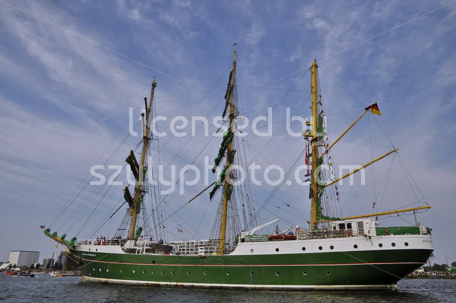 The Alexander von Humboldt on the SAIL Amsterdam - Adam Szuly Photography