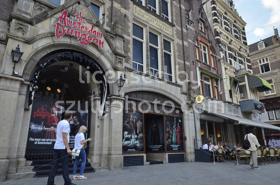 The Amsterdam Dungeon theater on the Rokin - Adam Szuly Photography