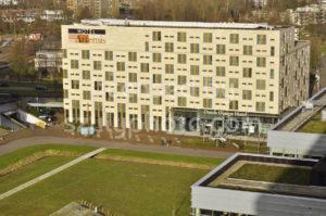 The Artemis Hotel on the Keynesplein in Amsterdam - Adam Szuly Photography
