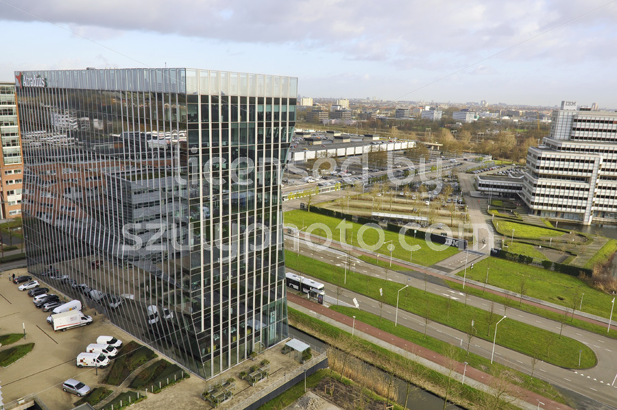 The Atradius head office building in Amsterdam - Adam Szuly Photography