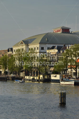 The Carre Theater on the Amstel river - Adam Szuly Photography