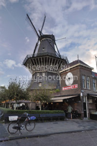 The De Gooyer Windmill from the Funenkade - Adam Szuly Photography