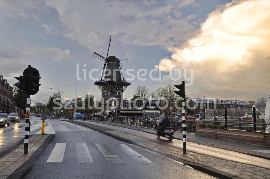 The De Gooyer Windmill on the Zeeburgerstraat - Adam Szuly Photography