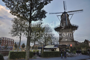The De Gooyer Windmill with the Langedijk bar - Adam Szuly Photography