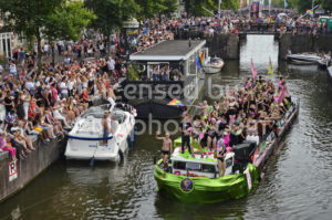 The Groen Links boat – Boat Parade 2018 - Adam Szuly Photography