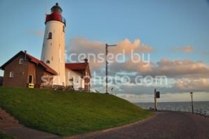 The Lighthouse in Urk - Adam Szuly Photography