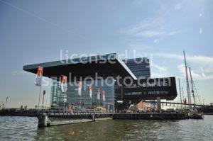 The Music Hall (Muziekgebouw) in the center of Amsterdam - Adam Szuly Photography