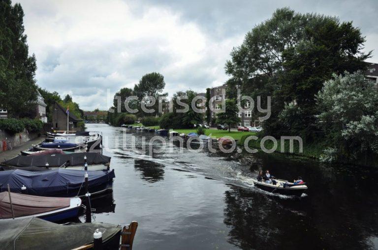 The Noorder Amstelkanaal from the Lyceumbrug - Adam Szuly Photography