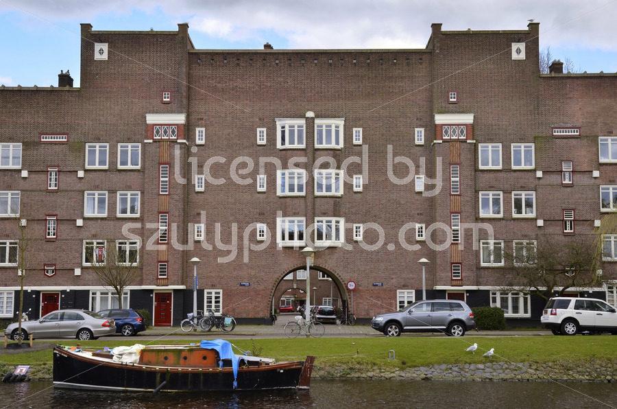 The Olympia 2 Amsterdam School building - Adam Szuly Photography