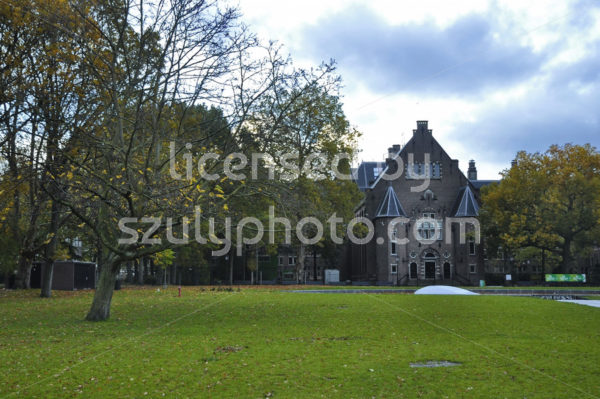 The Royal Tropical Institute from the Oosterpark - Adam Szuly Photography