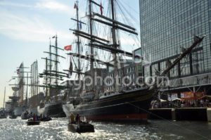 The Stad Amsterdam tall ship in the Ijhaven port - Adam Szuly Photography