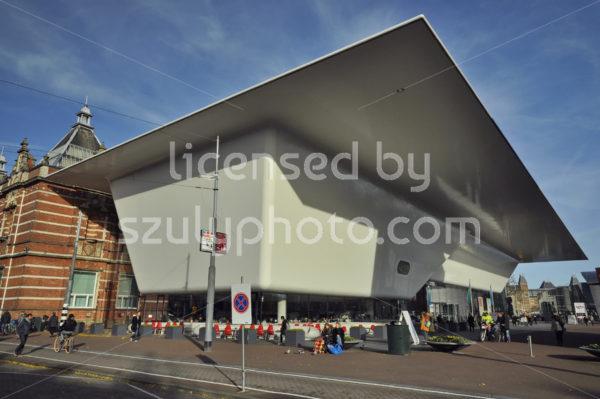 The Stedelijk Museum from the Van Baerlestraat - Adam Szuly Photography