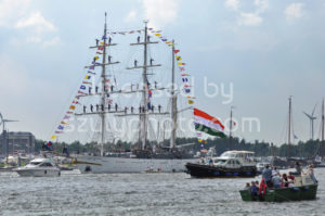 The Tarangini tall ship on the Ij river - Adam Szuly Photography