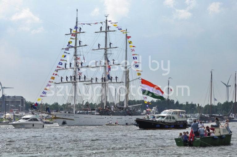 The Tarangini tall ship on the Ij river - Adam Szuly Photography