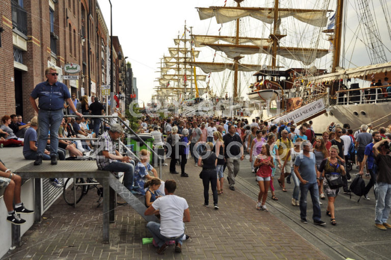 The Veemkade at the time of the Sail Amsterdam - Adam Szuly Photography