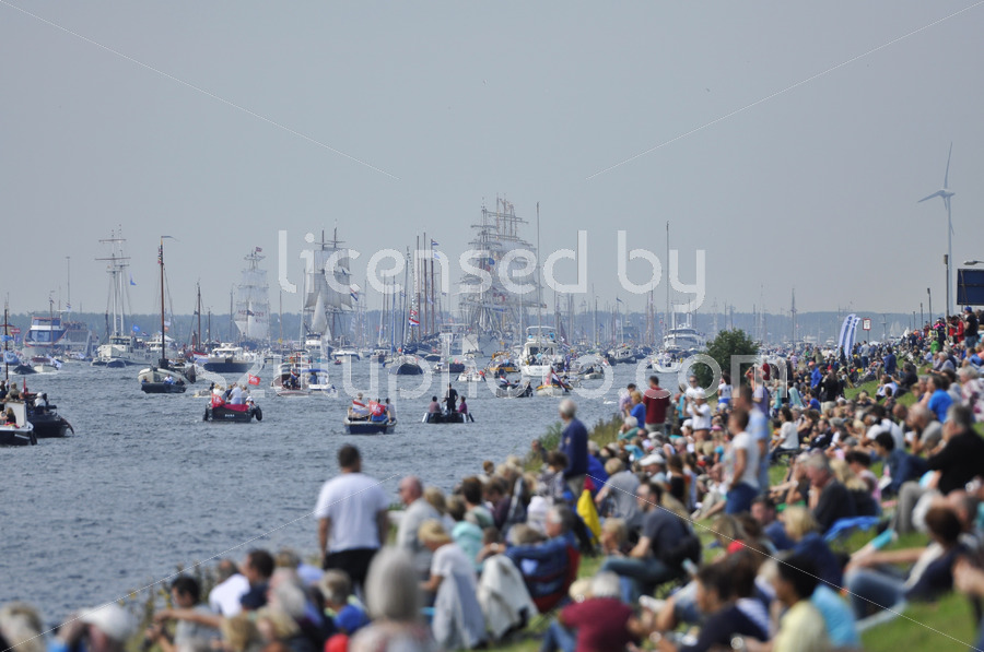 The View of the Sail Amsterdam 2015 from the side of the Ij river - Adam Szuly Photography