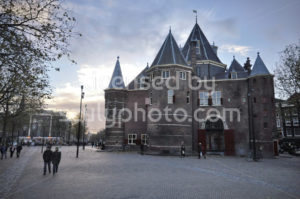 The Waag building on the Nieuwmarkt - Adam Szuly Photography