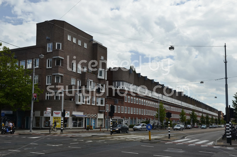 The Wijdeveld building on the Hoofdweg - Adam Szuly Photography