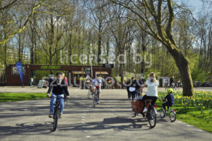 The bike path in front of the Fun Forest - Adam Szuly Photography