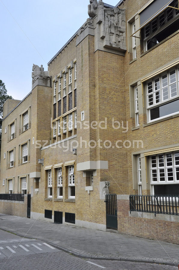 The city school on the Israelskade - Adam Szuly Photography
