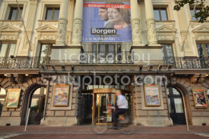 The main entrance of the Royal Theater Carre - Adam Szuly Photography