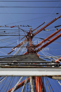 The main mast of the Sedov tall ship - Adam Szuly Photography