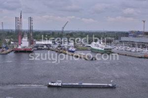 The ship dock in the Amsterdam Marina - Adam Szuly Photography