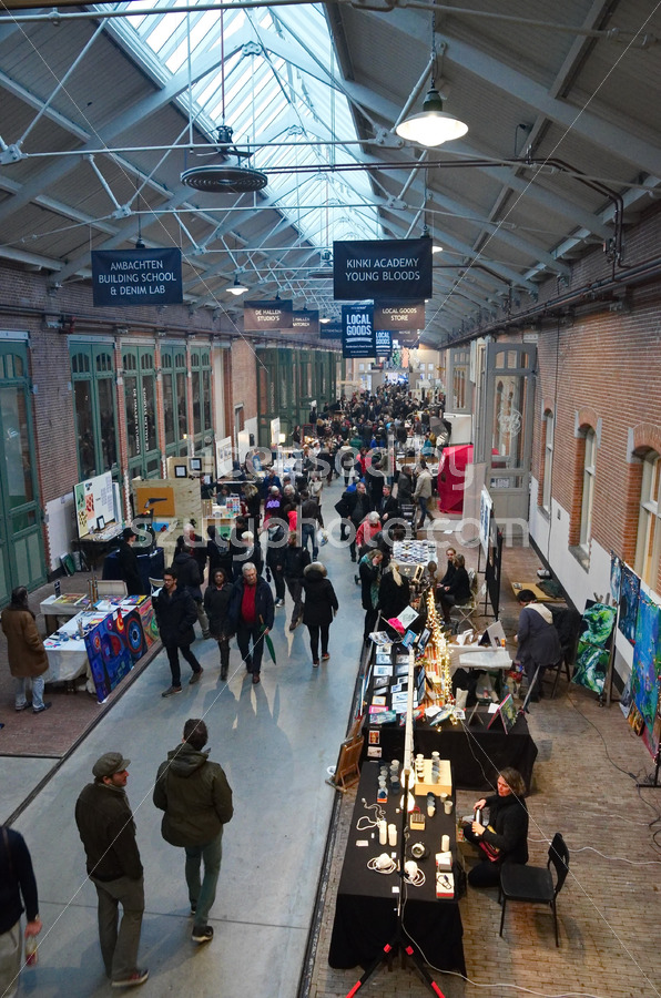 Traditional Christmas market at the De Hallen event hall - Adam Szuly Photography