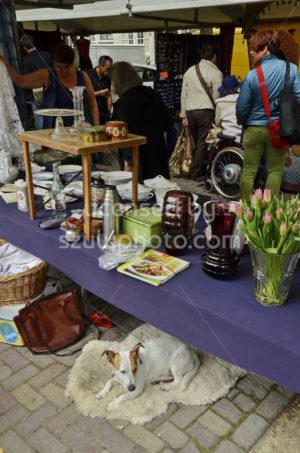 Vendor table at the flee market - Adam Szuly Photography