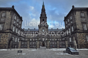 West view of the Christiansborg Palace - Adam Szuly Photography